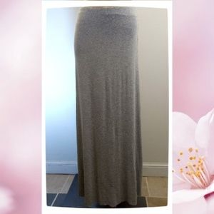 🆕 NWOT Bailey 44 Core Stretch Gray Maxi Skirt